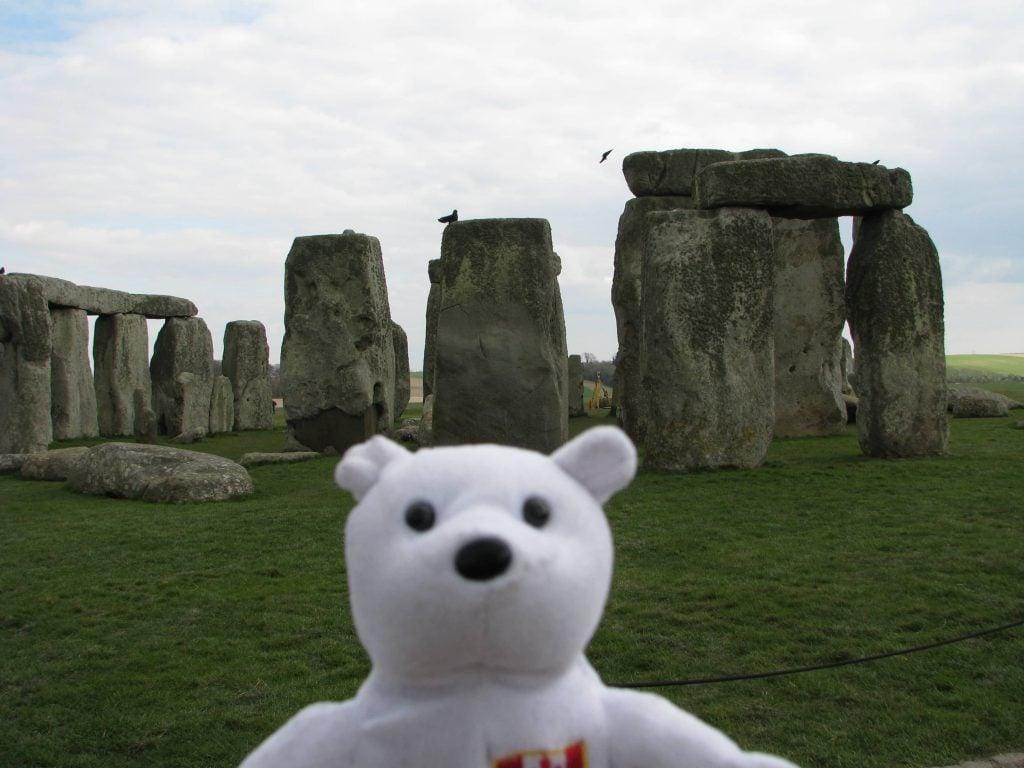 Snarfy at Stonehenge