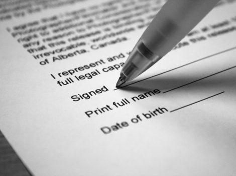 agreement signature