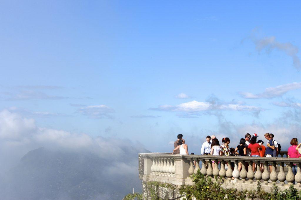 corcovado overlook rio de janeiro brazil