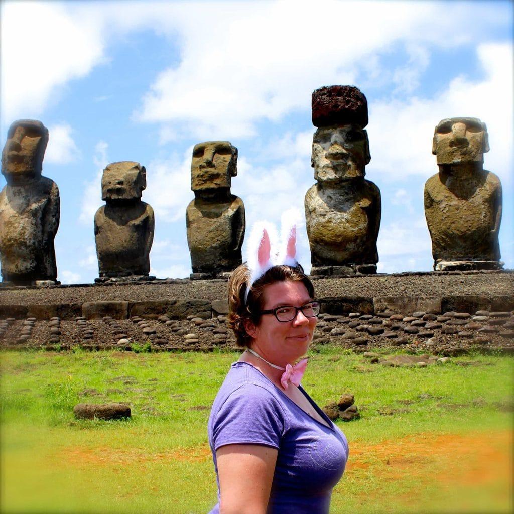 Easter Island bunny
