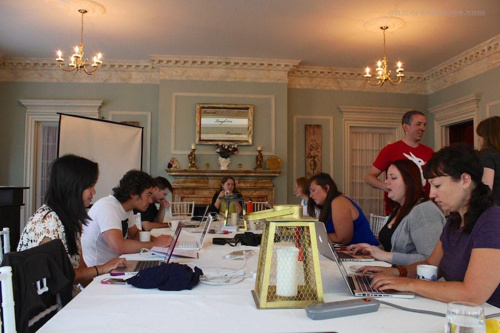 BlogHouse participants