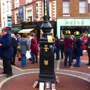 BookCrossing Flasmob Dublin