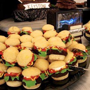 Chocolate hamburgers at Keystone resort