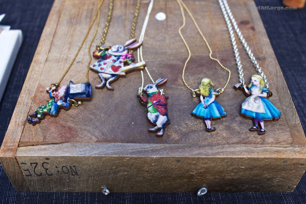 Alice in Wonderland Jewellery Dublin Design Mart