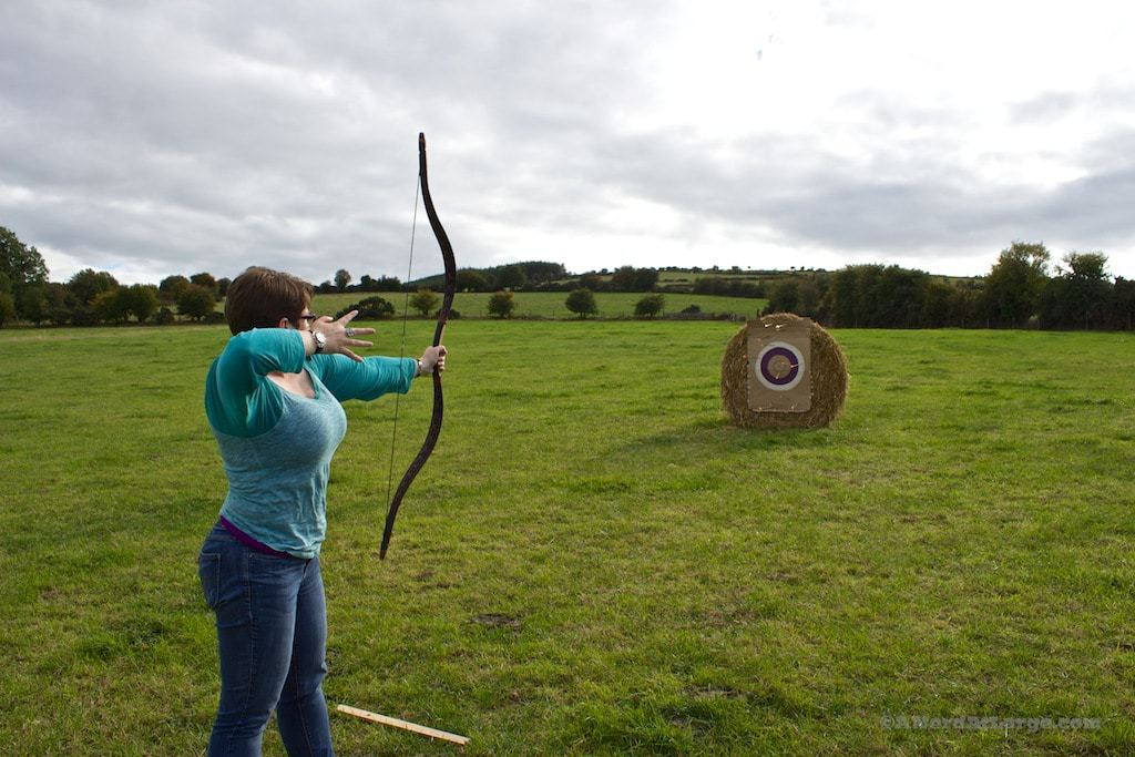 A Nerd at Large archery Ireland