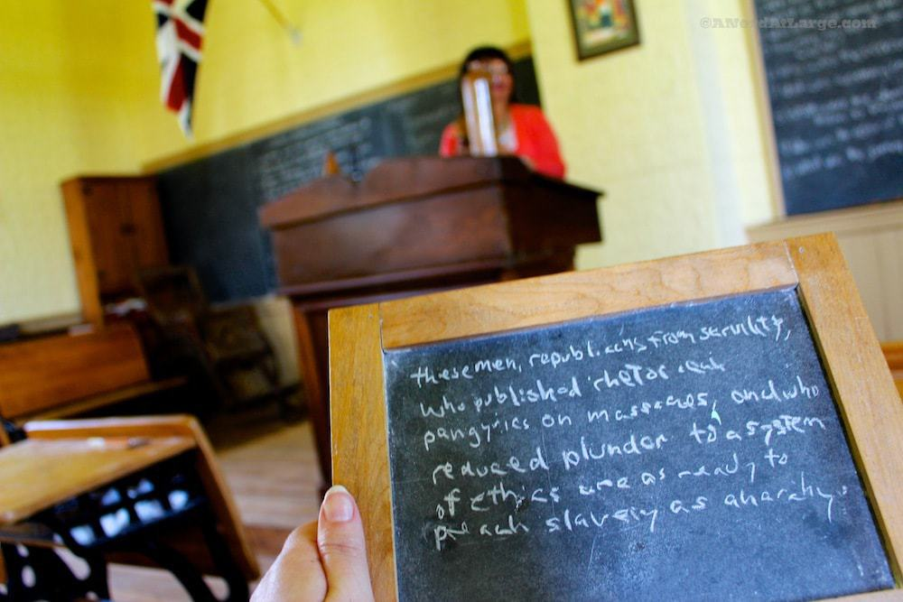 Buxton settlement spelling lesson