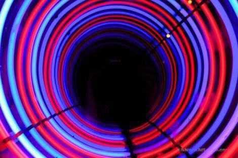 Camera Obscura tunnel Edinburgh