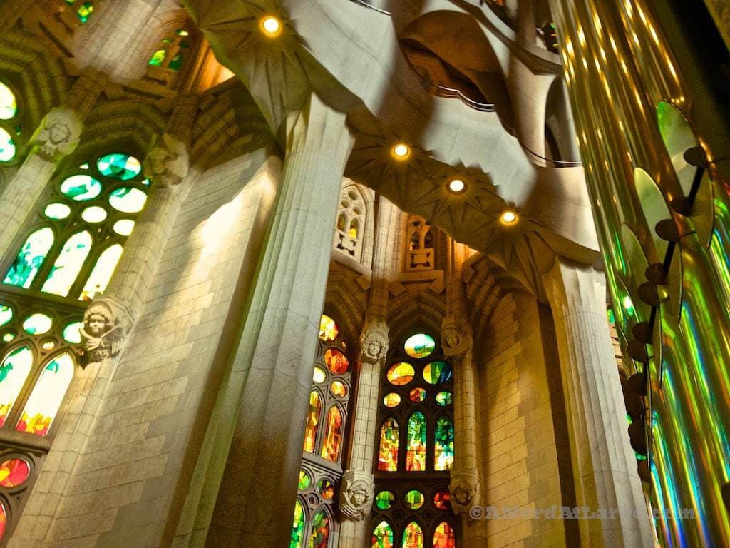 Sagrada Familia Barcelona Spain Gaudi