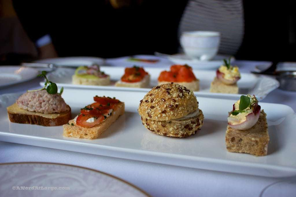 Shelbourne Hotel Afternoon Tea sandwiches