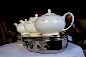 Shelbourne Hotel afternoon tea teapots