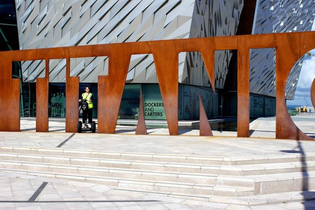 Titanic Belfast Segway tour