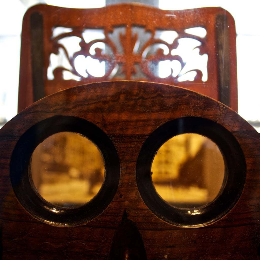 Camera Obscura viewfinder