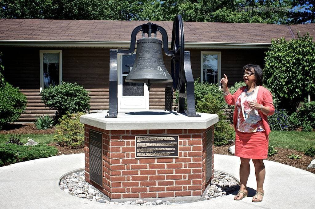 Buxton settlement freedom bell