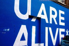 U Are Alive street art