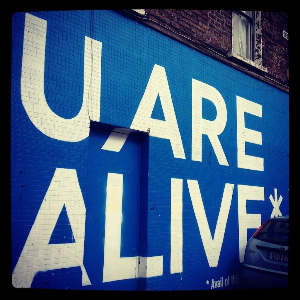U Are Alive mural
