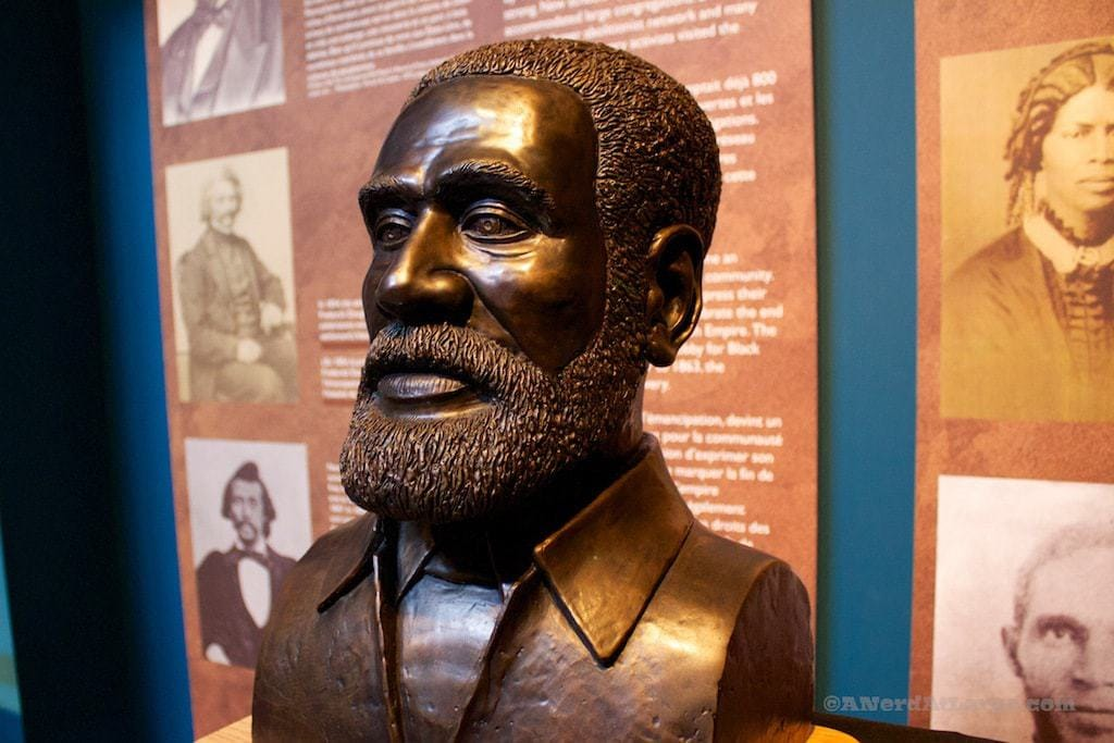 Bust of Josiah Henson at Uncle Tom's Cabin