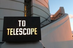 Priffith Park Observatory sunset telescope