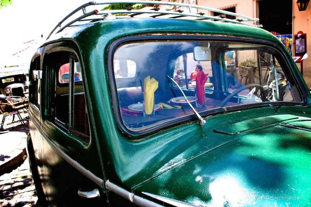 Colonia Uruguay car dining