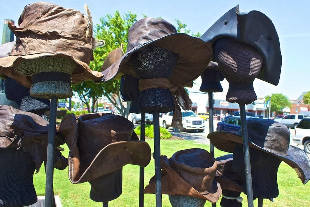Blackbeard Pirate Festival hats