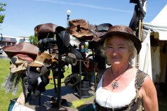 Blackbeard pirate festival hatmaker