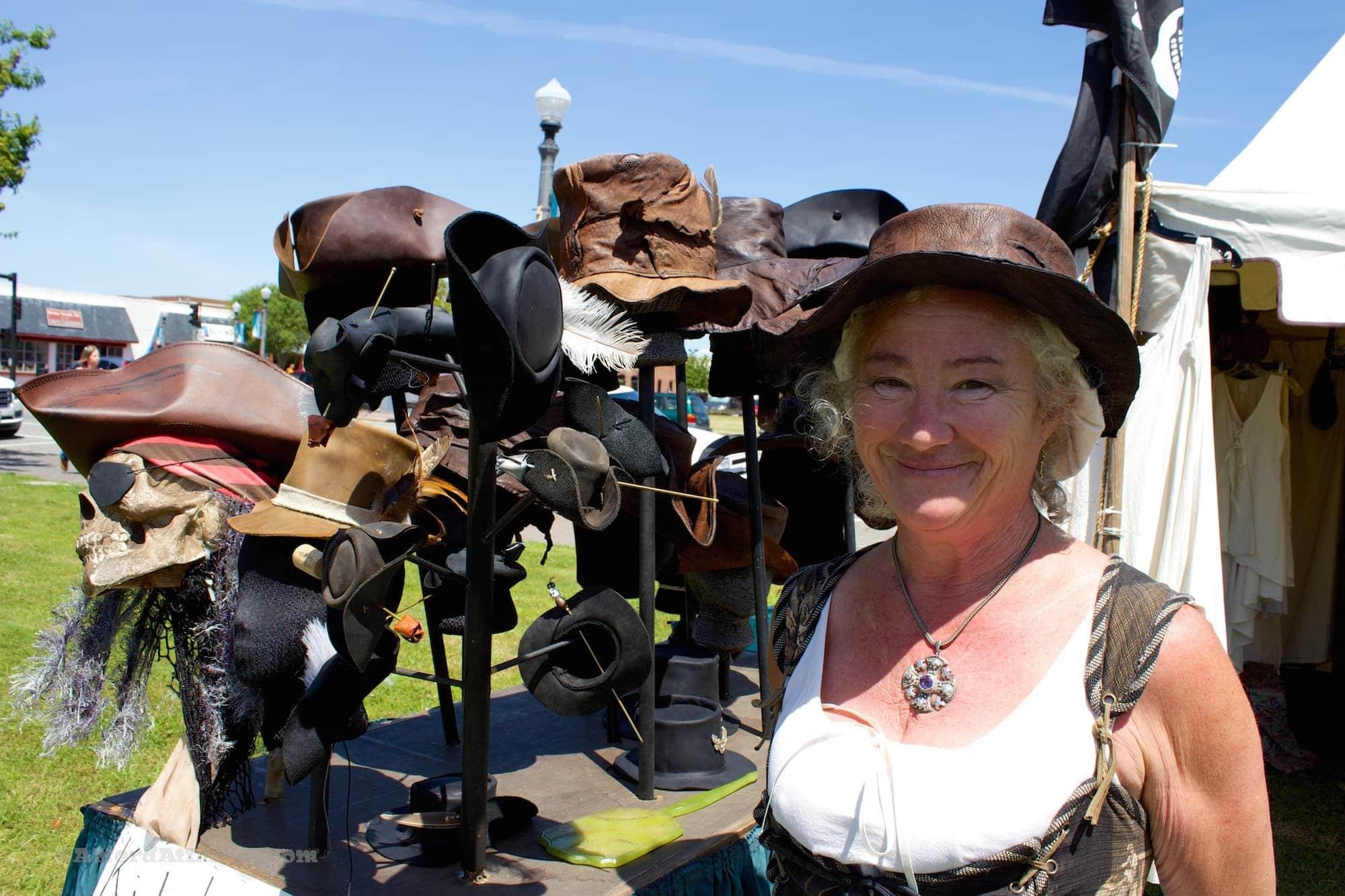 Blackbeard hatmaker