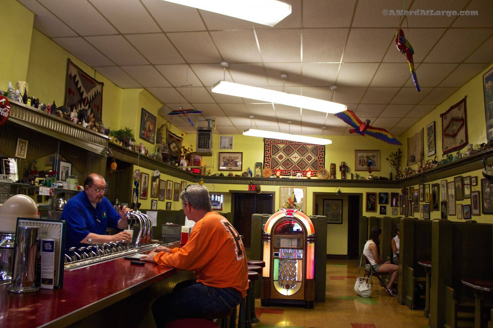 Helena Montana Parrot Confectionary soda fountain