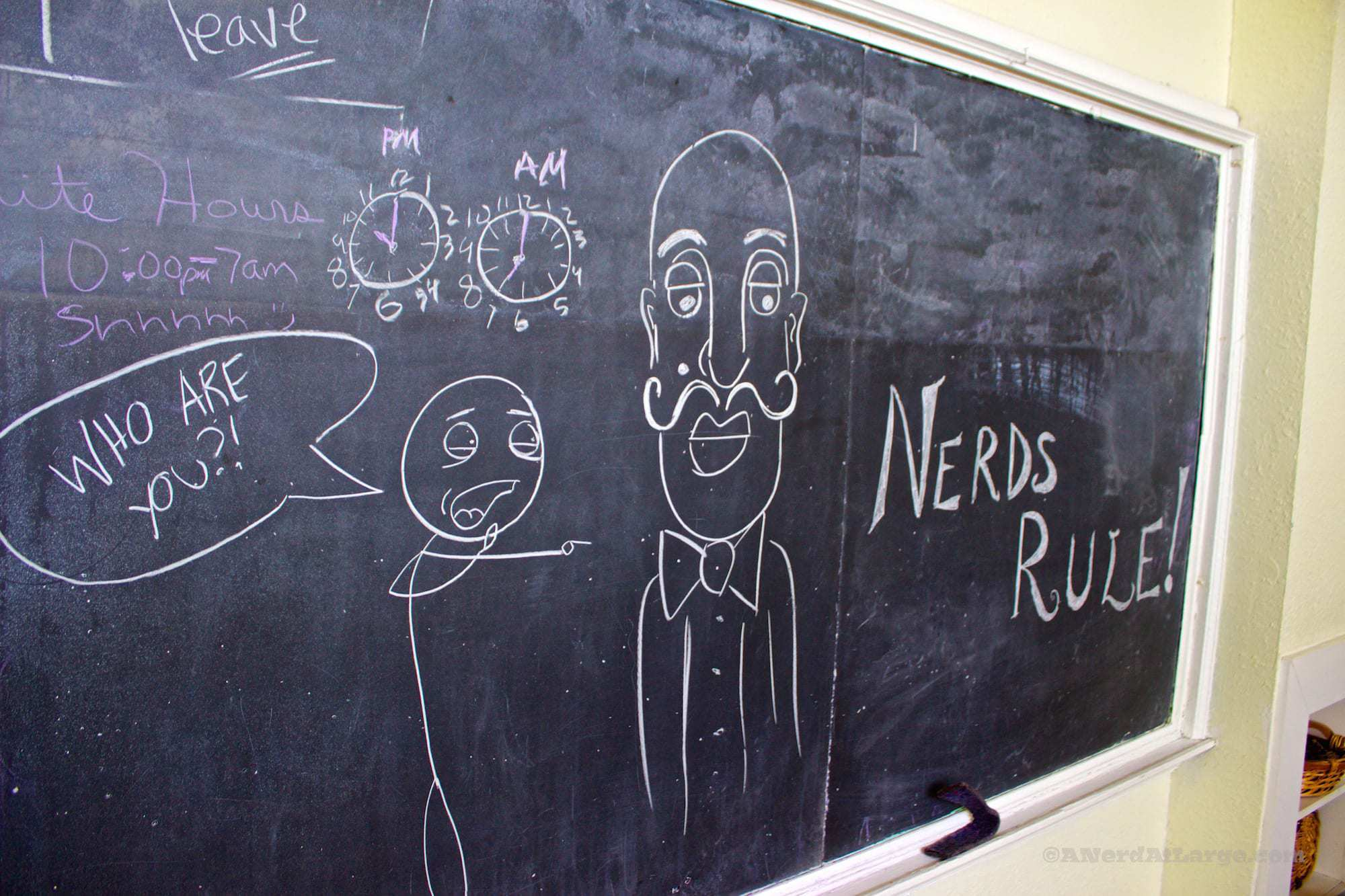 Blackboard fun Davie School Inn